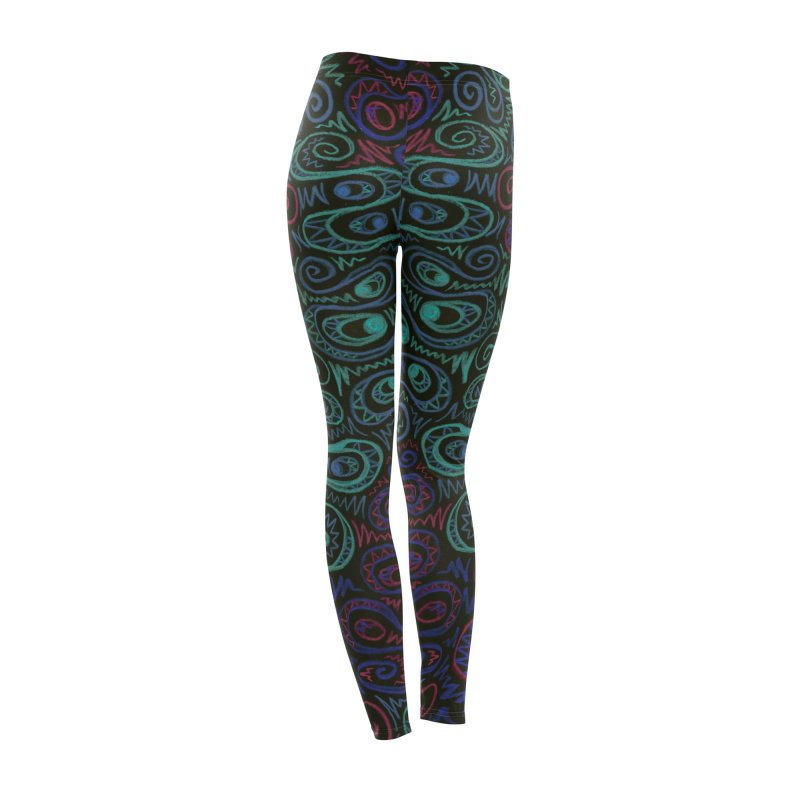 Curly Qued Women's Bottoms by Zia Foley's Artist Shop