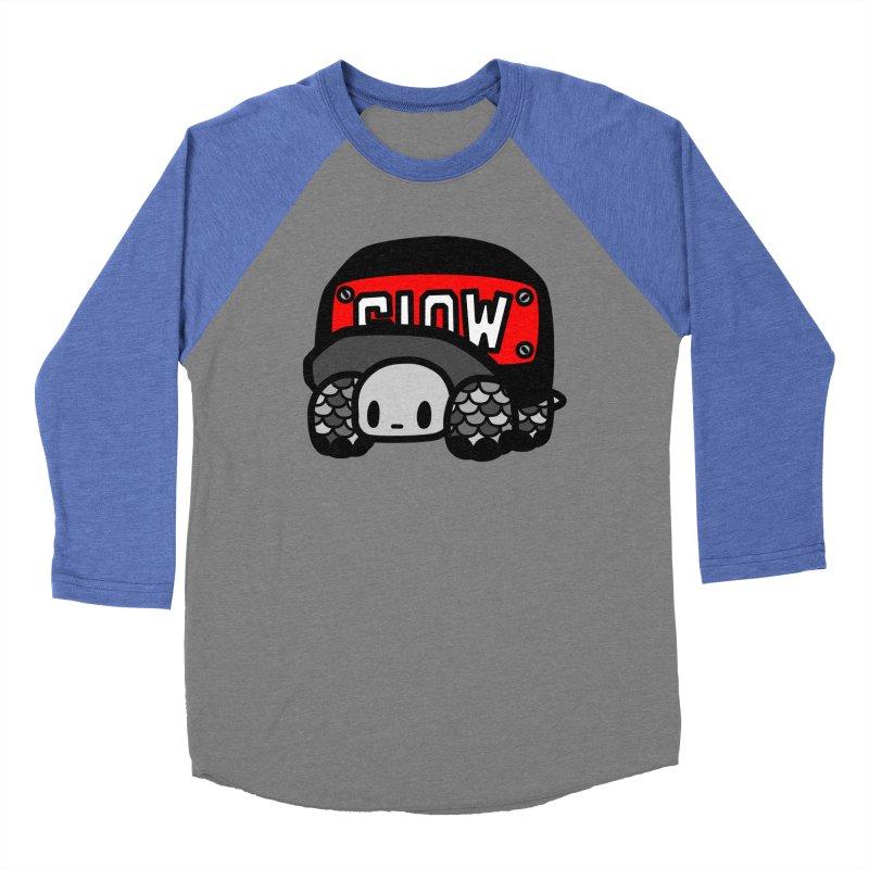 Cap Turtle Women's Baseball Triblend Longsleeve T-Shirt by Ziqi - Monster Little
