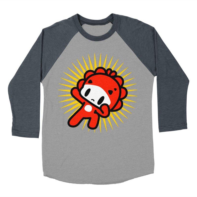 power! power!! power!!! Women's Baseball Triblend Longsleeve T-Shirt by Ziqi - Monster Little