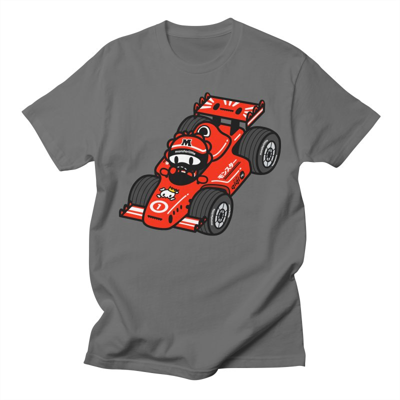 vroom! vroom!! vroom!!! Men's T-Shirt by Ziqi - Monster Little