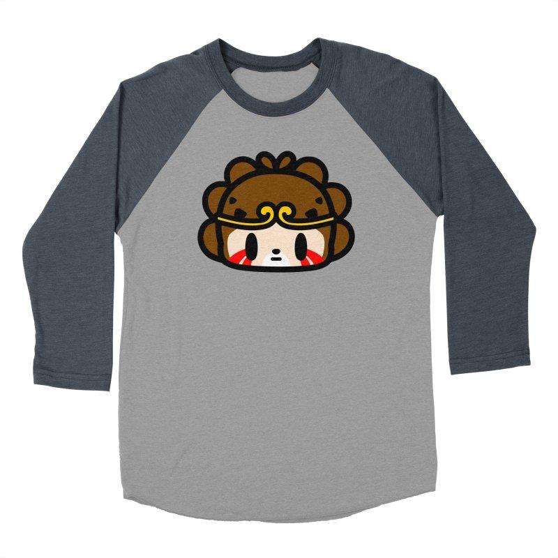 I am monkey king Women's Baseball Triblend Longsleeve T-Shirt by Ziqi - Monster Little