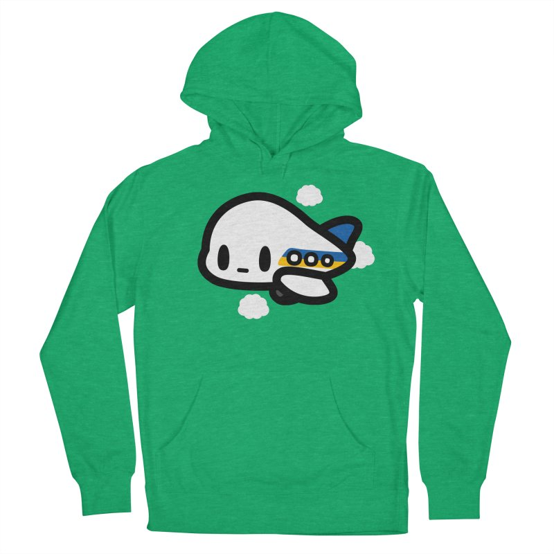 plane Men's French Terry Pullover Hoody by Ziqi - Monster Little