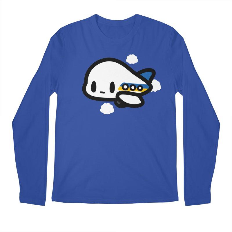 plane Men's Regular Longsleeve T-Shirt by Ziqi - Monster Little