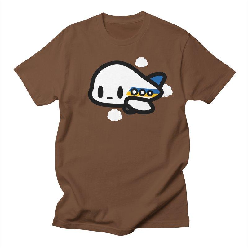 plane Men's Regular T-Shirt by Ziqi - Monster Little