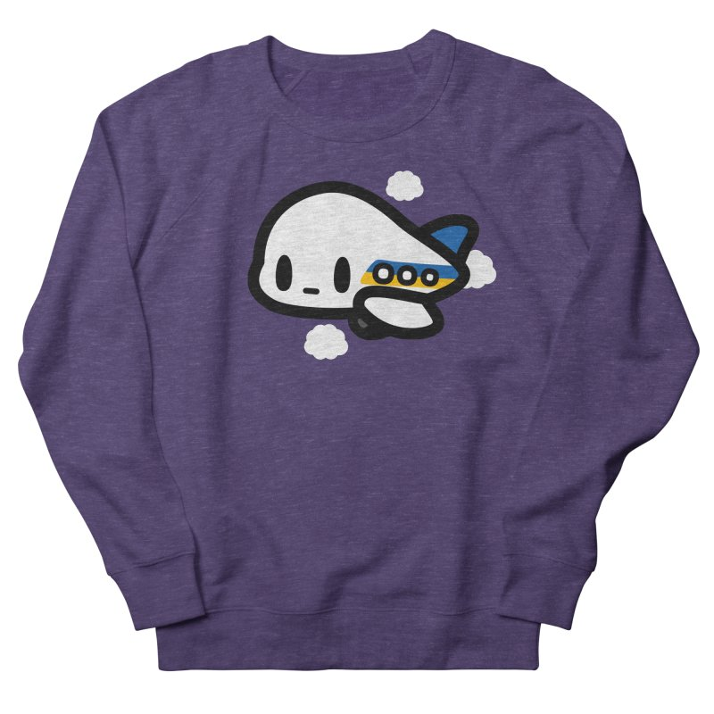 plane Women's Sweatshirt by Ziqi - Monster Little