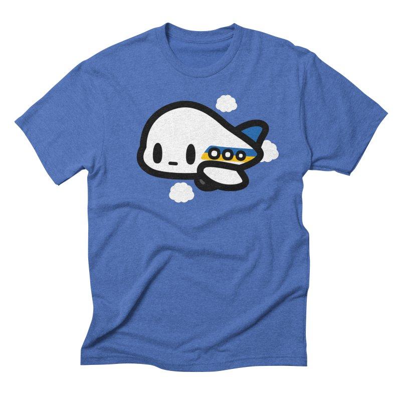 plane Men's T-Shirt by Ziqi - Monster Little