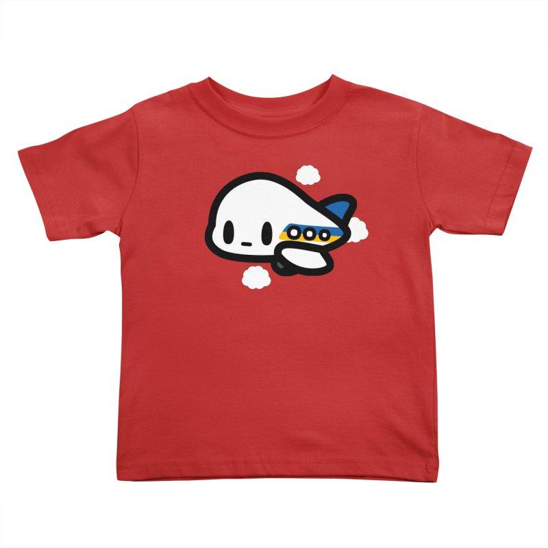 plane Kids Toddler T-Shirt by Ziqi - Monster Little