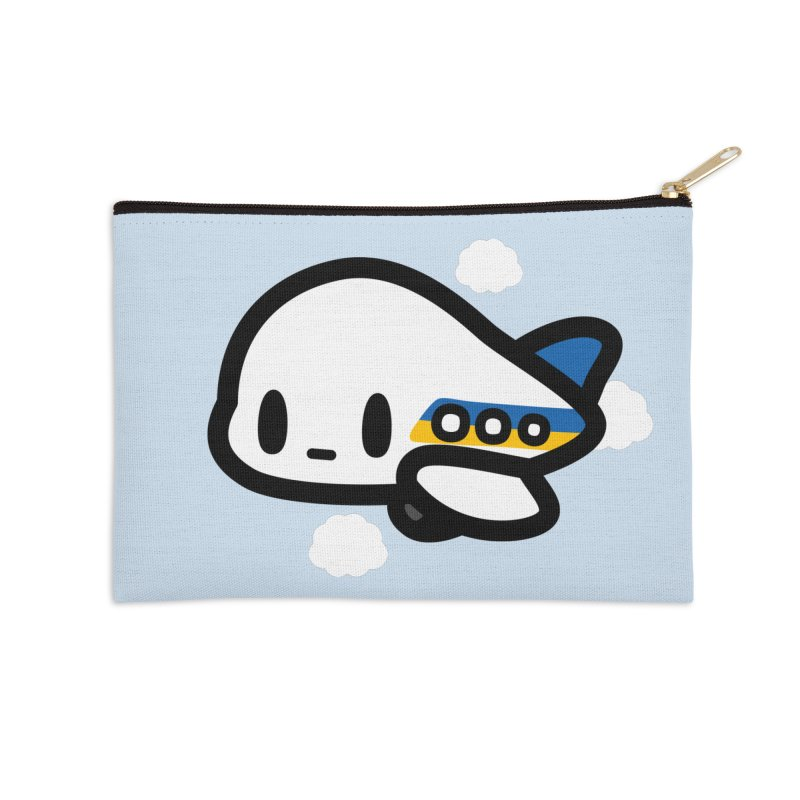 plane Accessories Zip Pouch by Ziqi - Monster Little