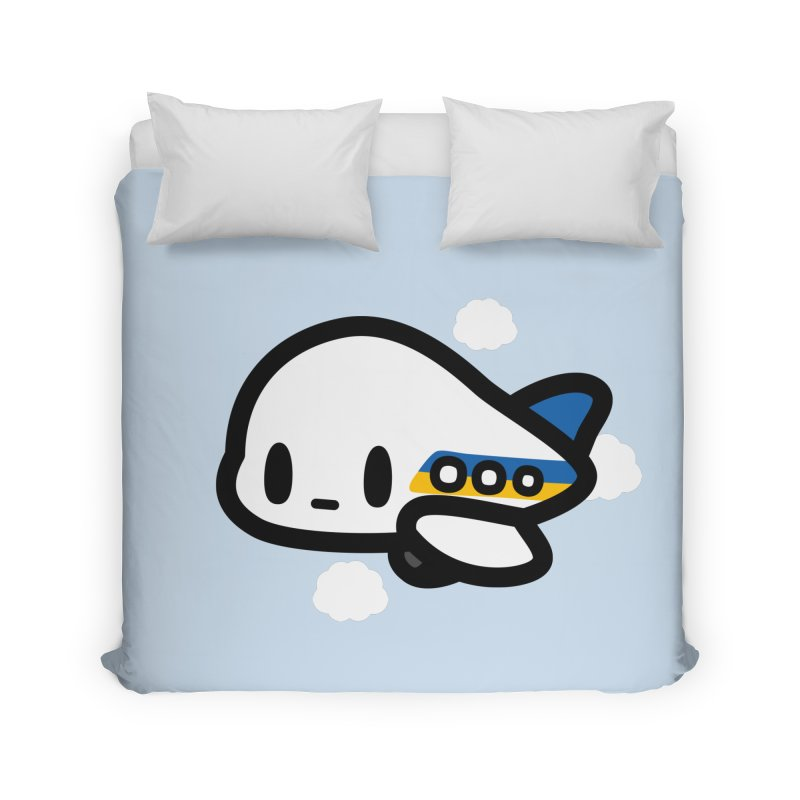 plane Home Duvet by Ziqi - Monster Little