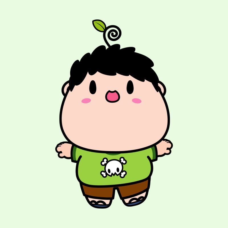 nasu boy Home Stretched Canvas by Ziqi - Monster Little
