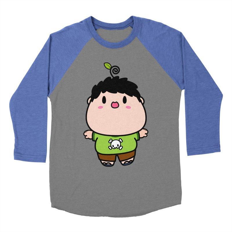 nasu boy Men's Baseball Triblend Longsleeve T-Shirt by Ziqi - Monster Little