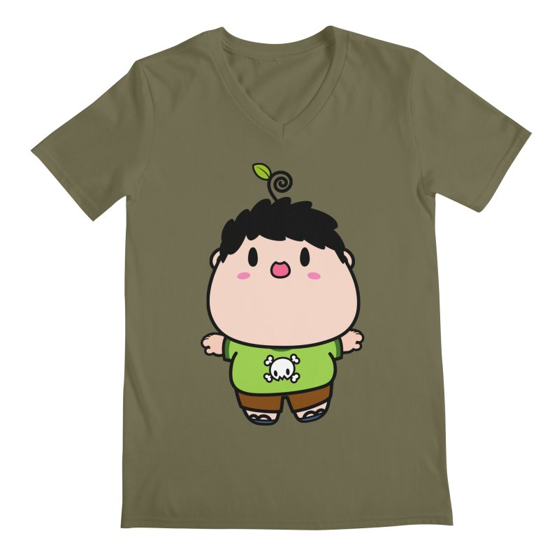 nasu boy Men's V-Neck by Ziqi - Monster Little