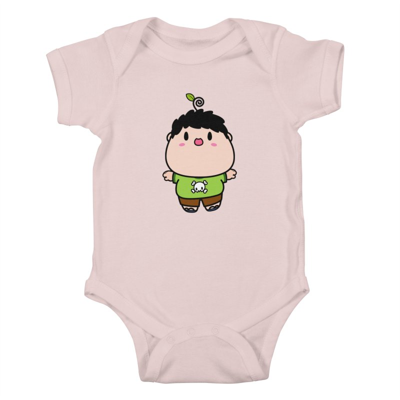 nasu boy Kids Baby Bodysuit by Ziqi - Monster Little
