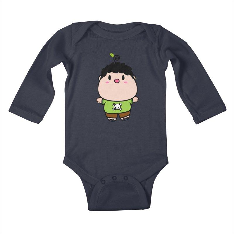 nasu boy Kids Baby Longsleeve Bodysuit by Ziqi - Monster Little