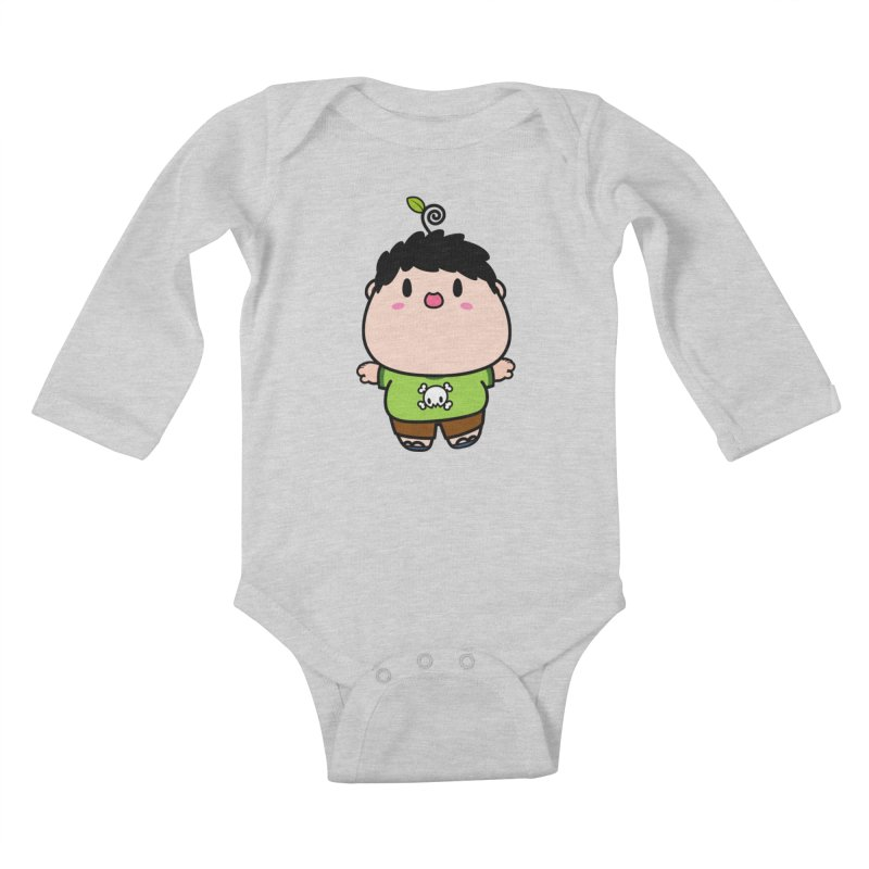 nasu boy Kids Baby Longsleeve Bodysuit by Ziqi - Monster Little