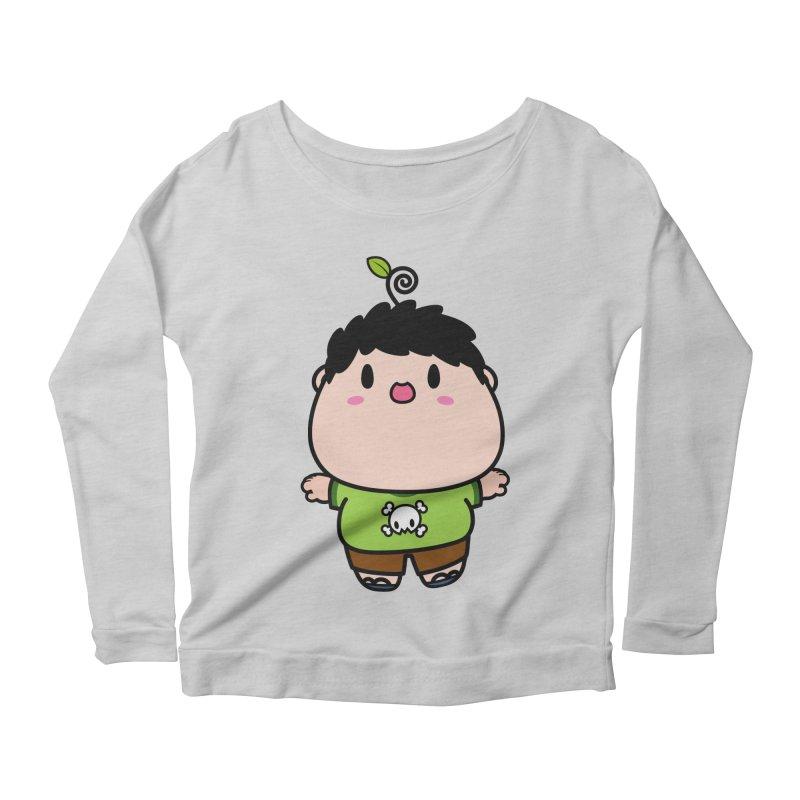 nasu boy Women's Scoop Neck Longsleeve T-Shirt by Ziqi - Monster Little