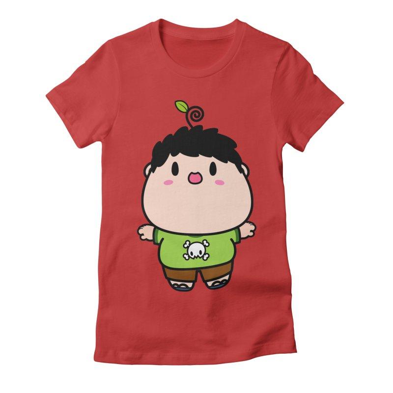 nasu boy Women's Fitted T-Shirt by Ziqi - Monster Little