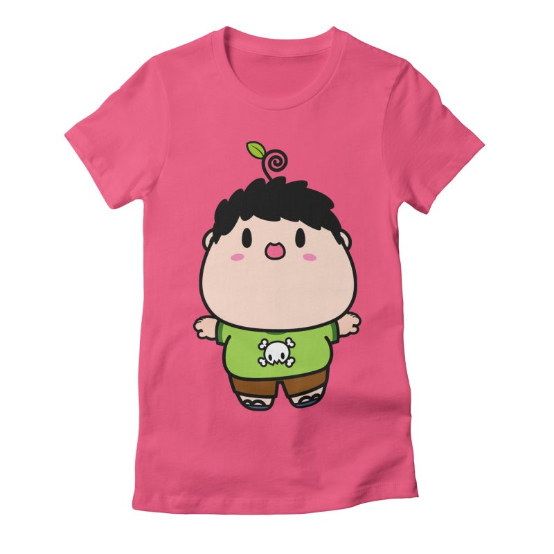 nasu boy Women's Fitted T-Shirt by Ziqi - Monster Little