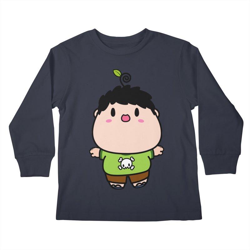 nasu boy Kids Longsleeve T-Shirt by Ziqi - Monster Little