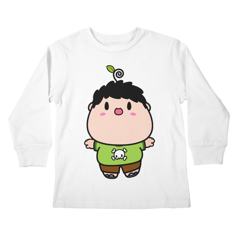 nasu boy Kids Longsleeve T-Shirt by Ziqi - Monster Little