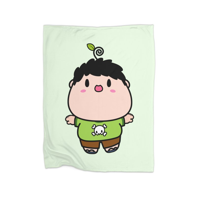 nasu boy Home Fleece Blanket Blanket by Ziqi - Monster Little