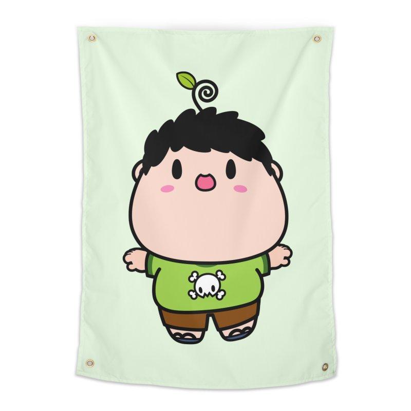 nasu boy Home Tapestry by Ziqi - Monster Little
