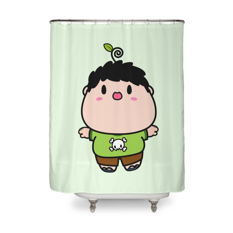nasu boy Home Shower Curtain by Ziqi - Monster Little