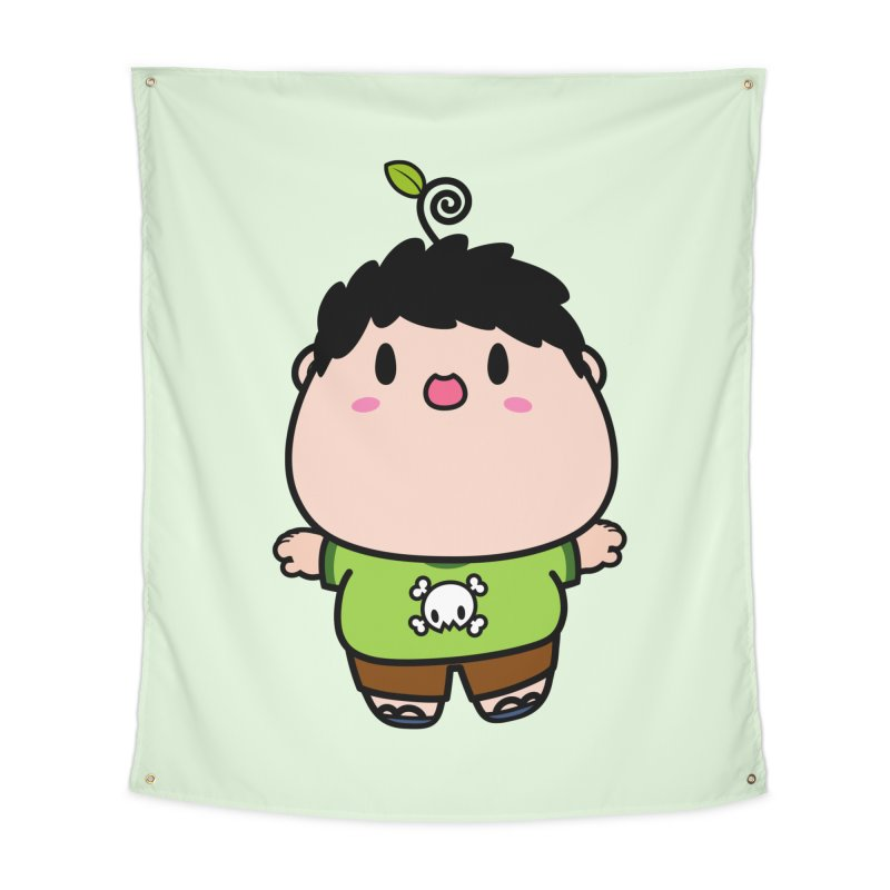 nasu boy Home Tapestry by Ziqi - Monster Little