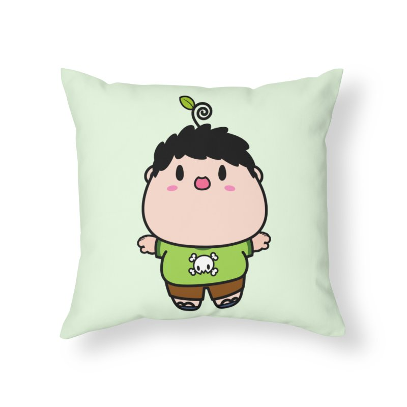 nasu boy Home Throw Pillow by Ziqi - Monster Little