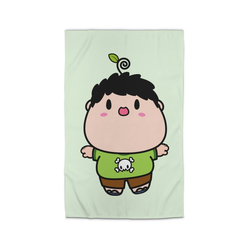 nasu boy Home Rug by Ziqi - Monster Little