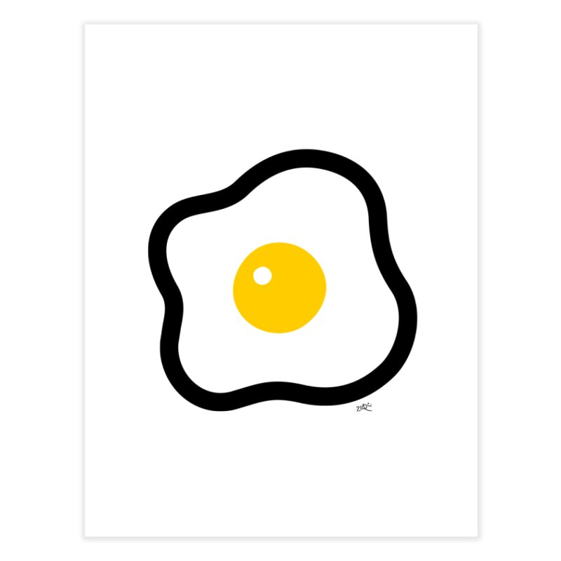 sunny side up! Home Fine Art Print by Ziqi - Monster Little