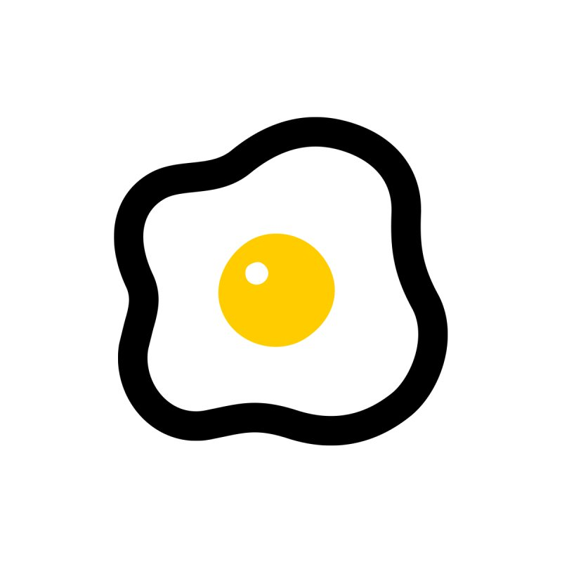 sunny side up! Kids Baby T-Shirt by Ziqi - Monster Little