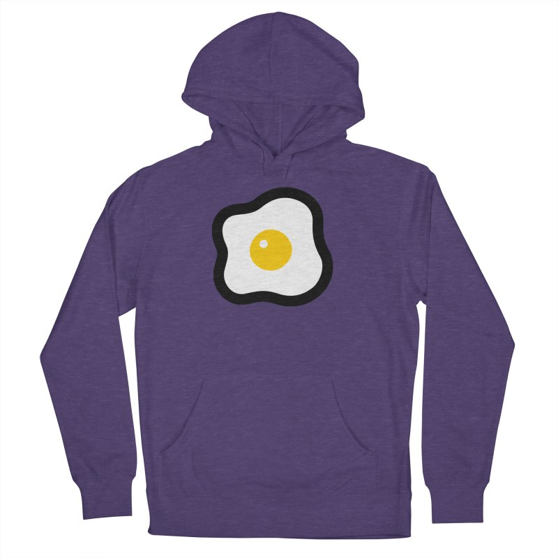 sunny side up! Women's French Terry Pullover Hoody by Ziqi - Monster Little