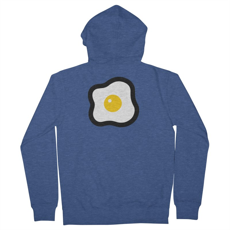 sunny side up! Women's French Terry Zip-Up Hoody by Ziqi - Monster Little