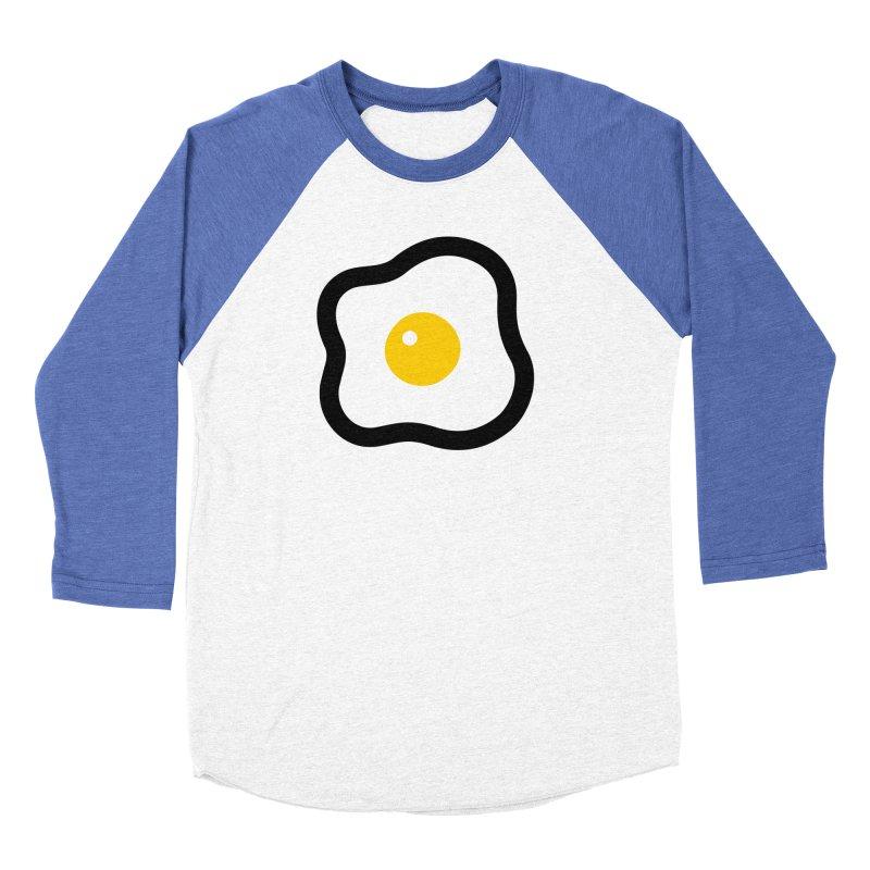 sunny side up! Women's Baseball Triblend Longsleeve T-Shirt by Ziqi - Monster Little