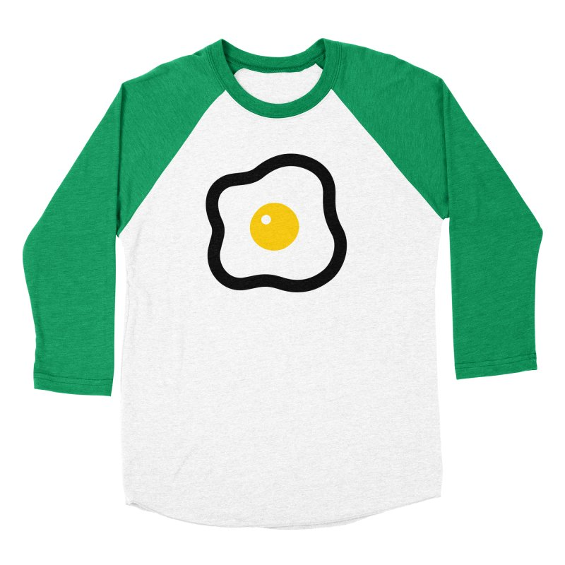 sunny side up! Women's Baseball Triblend Longsleeve T-Shirt by Ziqi - Monster Little
