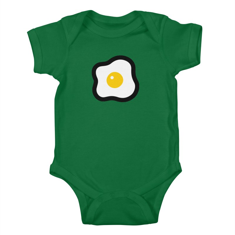 sunny side up! Kids Baby Bodysuit by Ziqi - Monster Little