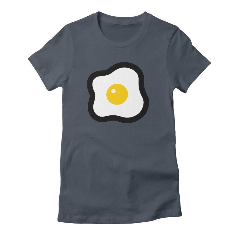 sunny side up! Women's T-Shirt by Ziqi - Monster Little