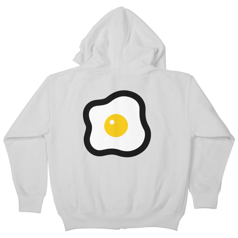 sunny side up! Kids Zip-Up Hoody by Ziqi - Monster Little