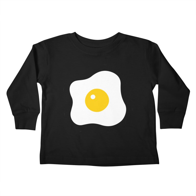 sunny side up! Kids Toddler Longsleeve T-Shirt by Ziqi - Monster Little