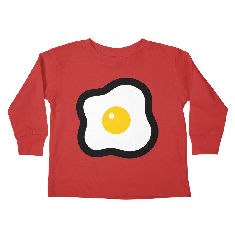 sunny side up! Kids Toddler Longsleeve T-Shirt by Ziqi - Monster Little
