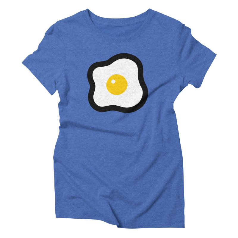 sunny side up! Women's Triblend T-Shirt by Ziqi - Monster Little