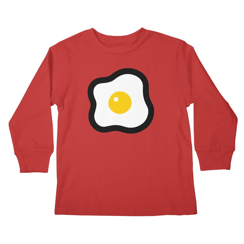 sunny side up! Kids Longsleeve T-Shirt by Ziqi - Monster Little