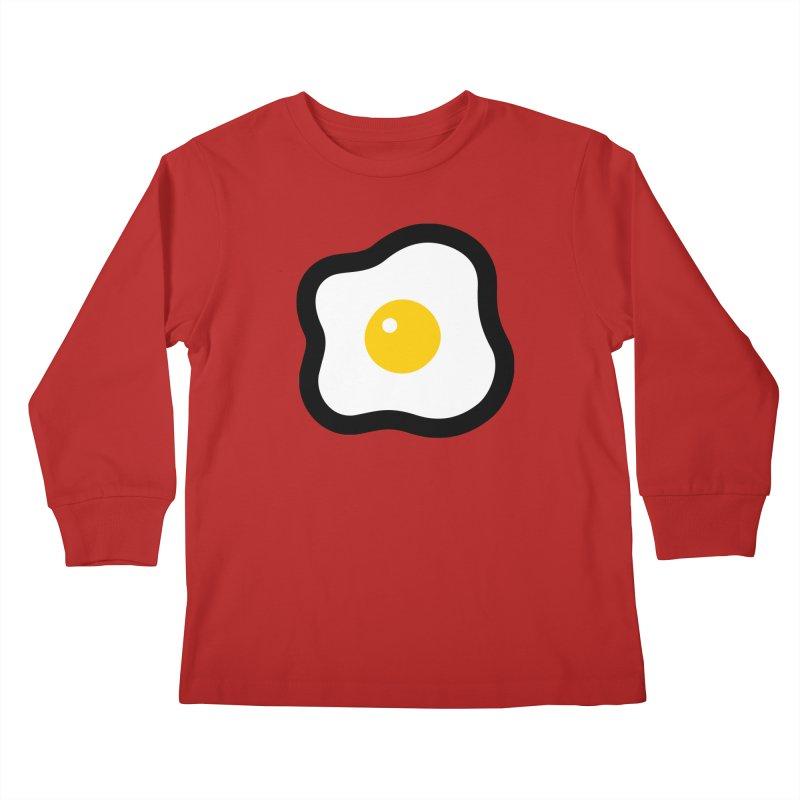 sunny side up! Kids Longsleeve T-Shirt by Ziqi - Monster Little