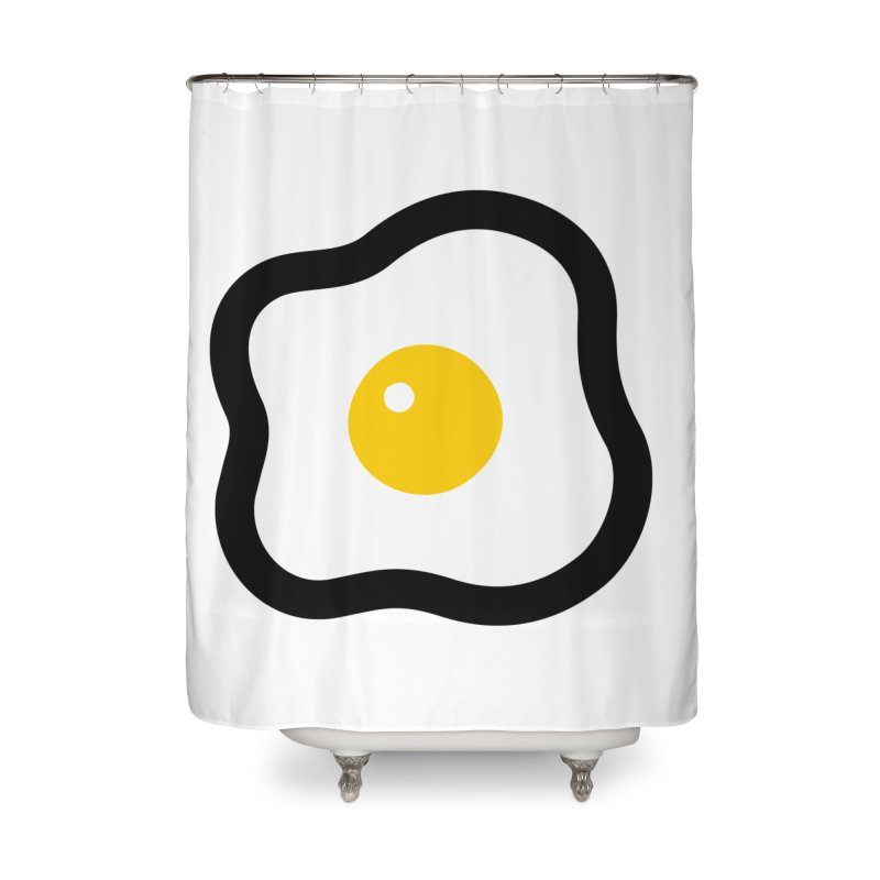 sunny side up! Home Shower Curtain by Ziqi - Monster Little