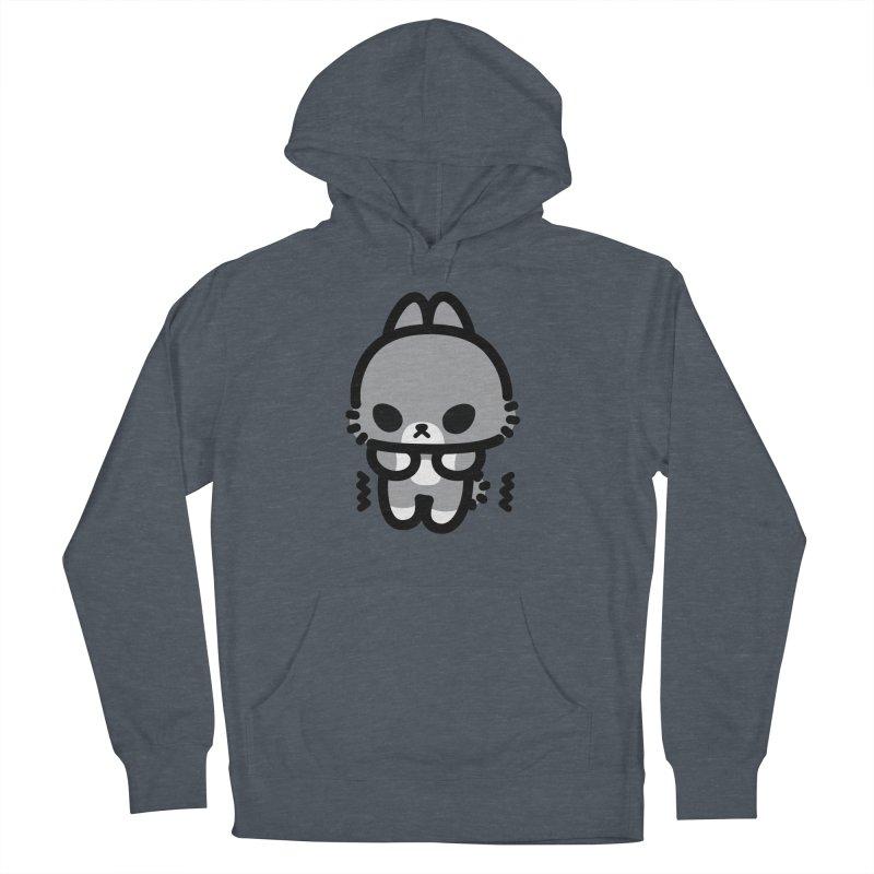 scaredy scaredy grey bunny Men's Pullover Hoody by Ziqi - Monster Little