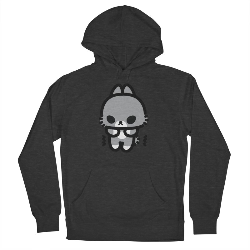 scaredy scaredy grey bunny Men's Pullover Hoody by Ziqi - Monster Little