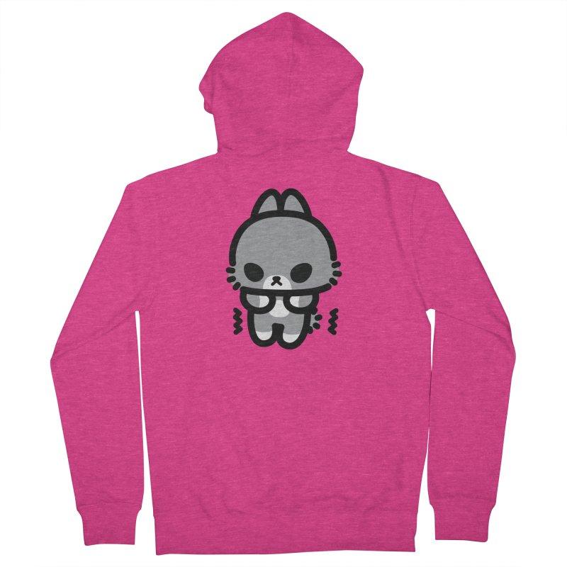 scaredy scaredy grey bunny Women's Zip-Up Hoody by Ziqi - Monster Little