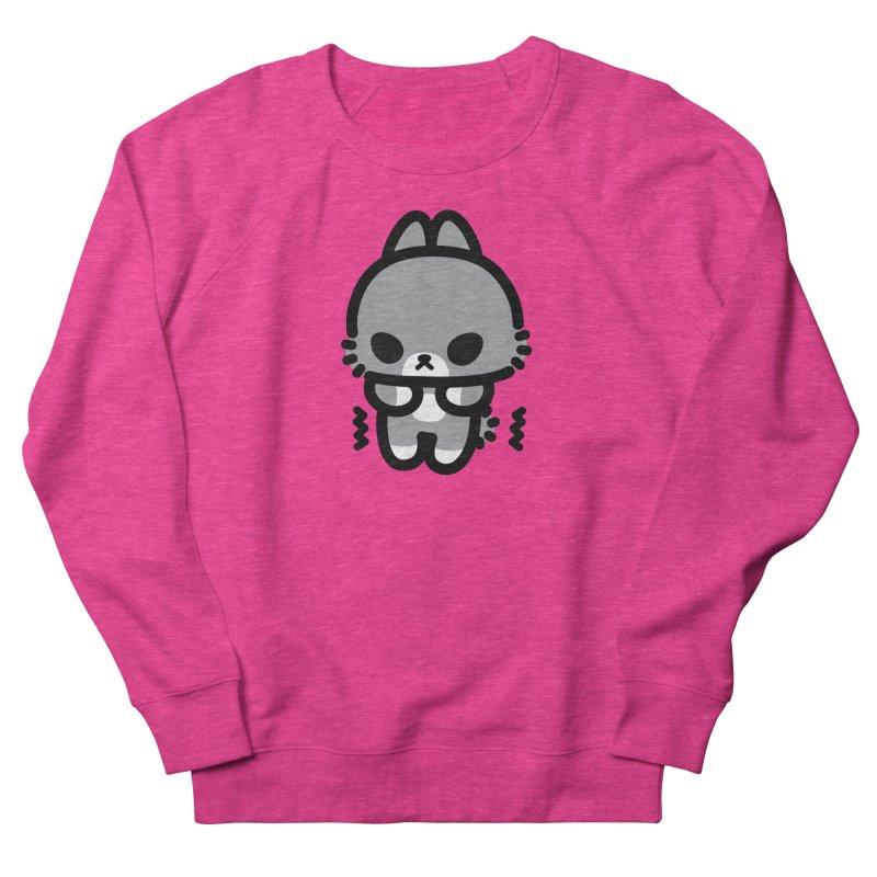 scaredy scaredy grey bunny Women's Sweatshirt by Ziqi - Monster Little