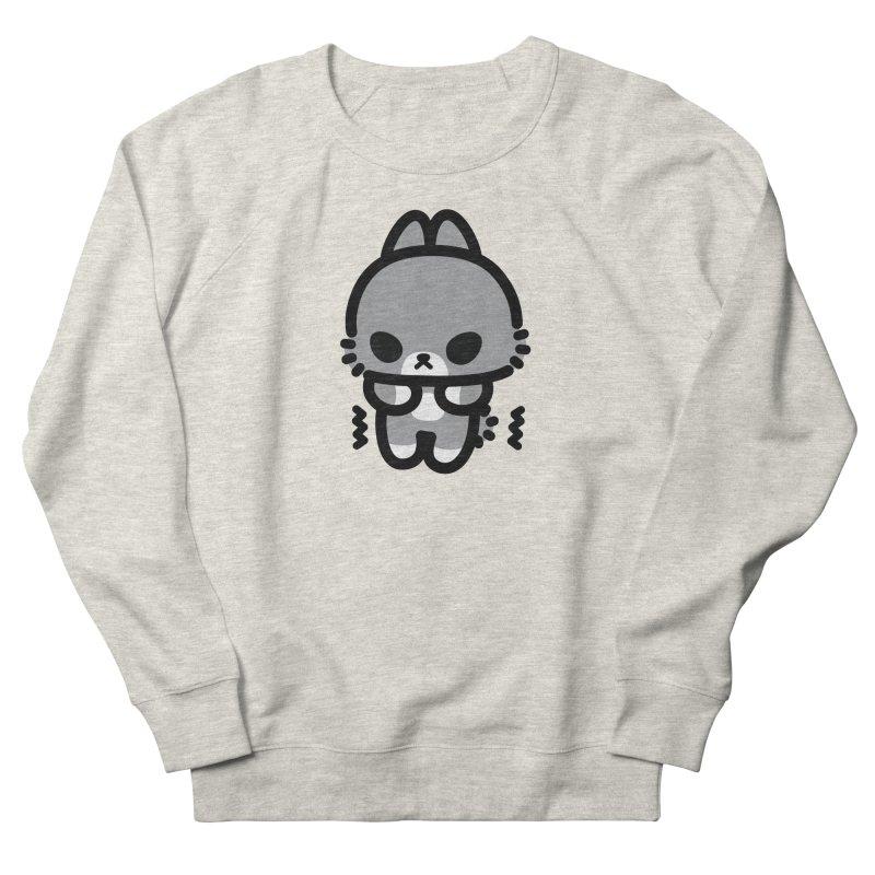 scaredy scaredy grey bunny Men's Sweatshirt by Ziqi - Monster Little